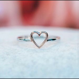 "You + our open heart ring = cutest couple ""ever""❤️"